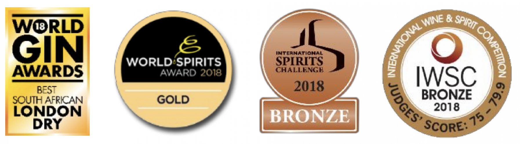 KWV Cruxland琴酒 awards